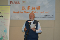 Fr Giosue Bonzi, Spiritual Advisor of Fu Hong Society, introduced Casa Famiglia