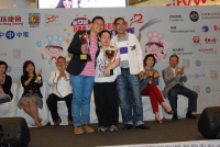 Gold Prize of Star Cooking: The Hon CHAN Han-pan and Cheng Kam Shing, service user of FHS Ngai Shun Home